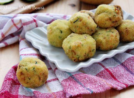 Bombette di zucchine e patate