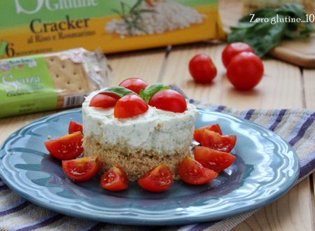 Mini cheesecake salate senza glutine
