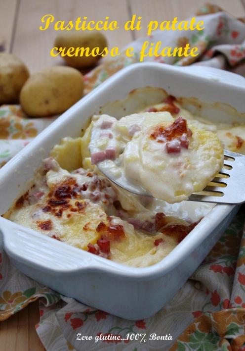 Parmigiana di Patate con Prosciutto Cotto