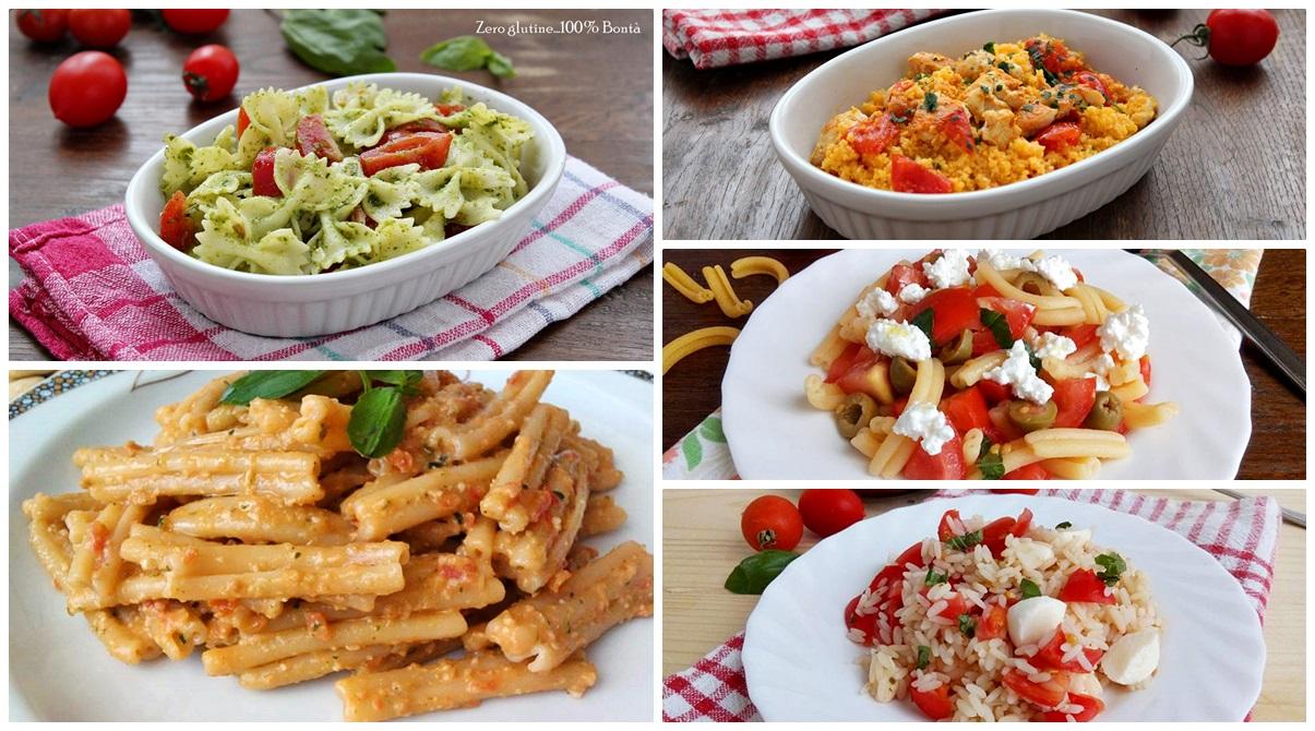 ricette per preparare 10 primi piatti estivi facili e veloci