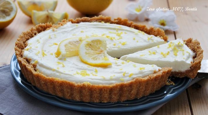 Crostata senza cottura al limone