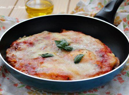 Pizza furba in padella senza glutine