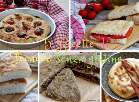 Focacce senza glutine – 5 Ricette da non perdere