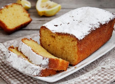 Plumcake allo yogurt e limone senza glutine