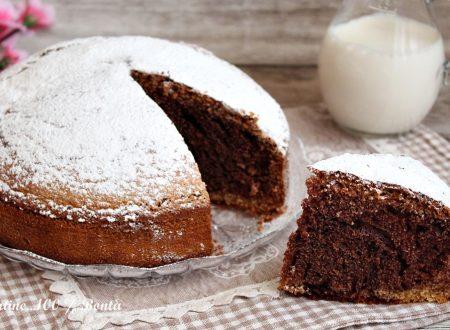 Torta soffice alla panna e cacao
