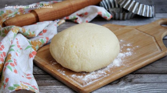 Pasta Frolla allo Yogurt Senza Glutine e Senza Burro