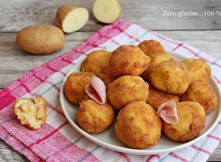 Polpette di patate e mortadella