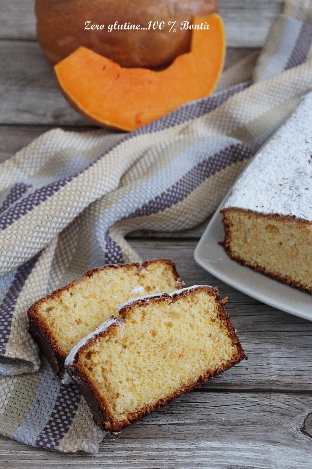 Molto Plumcake alla zucca e limone senza glutine e lattosio ES11