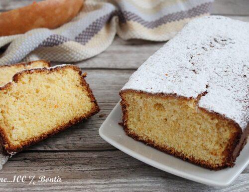 Plumcake alla zucca e limone , senza glutine e lattosio