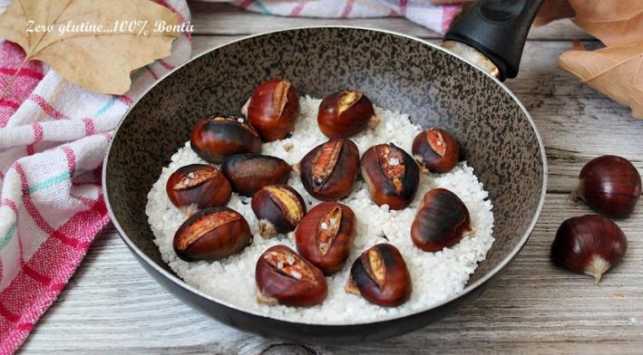 Come cuocere le castagne in padella