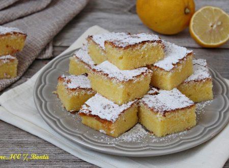 Quadrotti al limone senza glutine