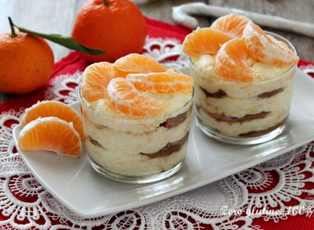 Tiramisù con crema di mandarini