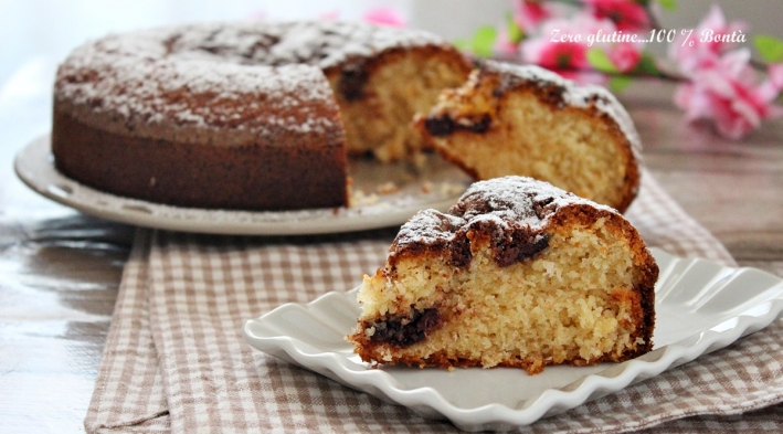 Torta morbida nutella e cocco