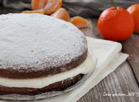 Torta con crema al mandarino