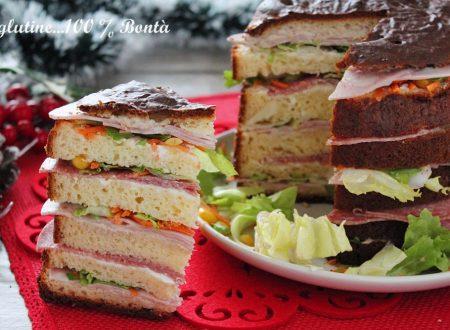 Panettone salato veloce senza glutine