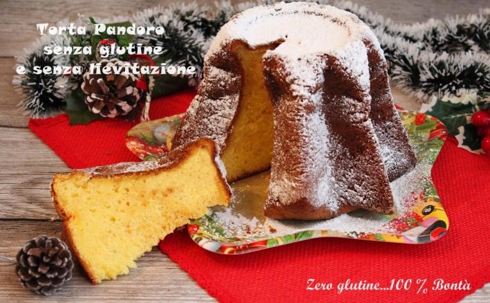 Torta Pandoro Senza Glutine