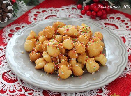 Struffoli senza glutine e senza burro