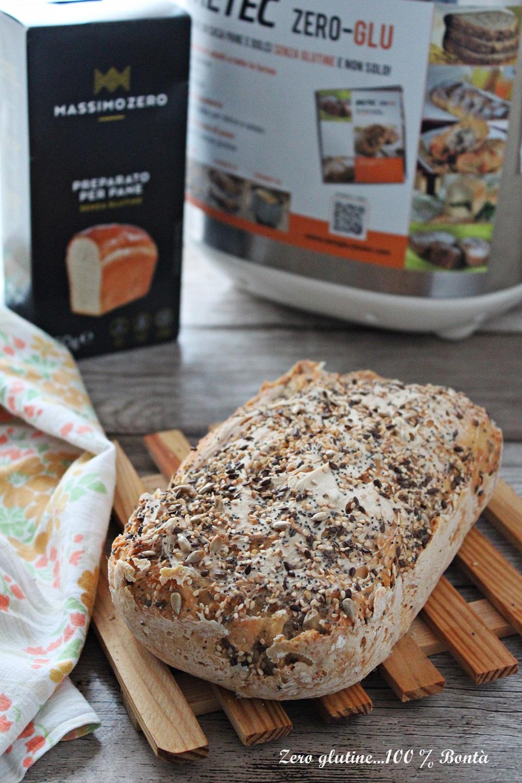 Pane senza glutine con preparato massimo zero nella - Macchina per cucinare bimby ...