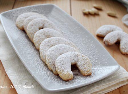 Biscotti alla vaniglia e mandorle