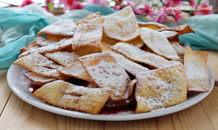 Chiacchiere o Frappe senza glutine