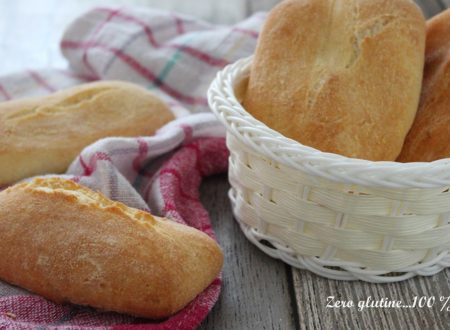 CIabattine piccole di pane senza glutine