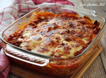 Lasagne di crepes alla bolognese