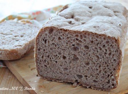 Pagnotta rustica con la macchina del pane Zero Glù