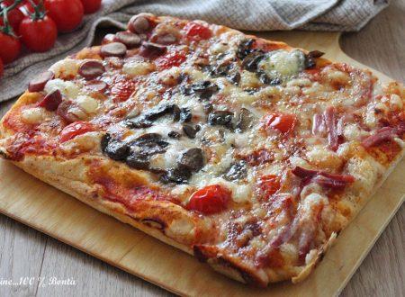 Pizza focaccia in teglia senza glutine