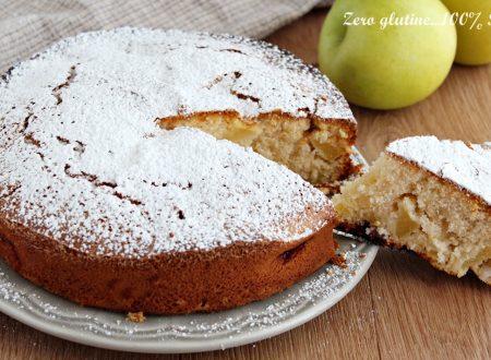 Torta rustica di mele senza glutine