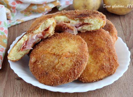Cotolette di patate ripiene di pomodoro e mozzarella