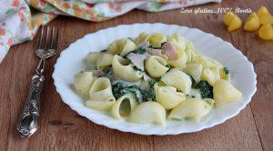 Pasta con Spinaci e Panna