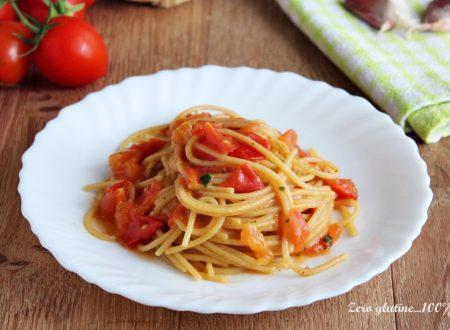 Spaghetti integrali alla campagnola