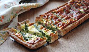 Crostata Salata agli Asparagi e Prosciutto
