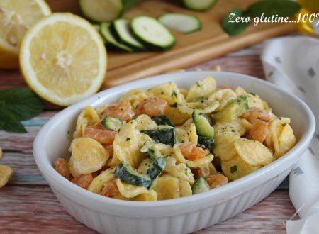 Orecchiette con zucchine e gamberi