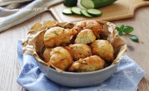 Frittelline morbide di zucchine