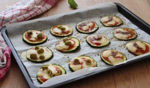 Pizzette gustose di zucchine