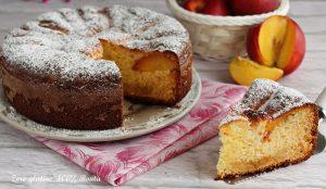 Torta Soffice al Mascarpone e Pesche