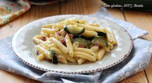 Pasta Cremosa con Zucchine e Prosciutto