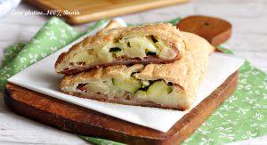 Rustico Ripieno di Zucchine e Patate