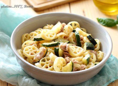 Pasta fredda con zucchine e tonno