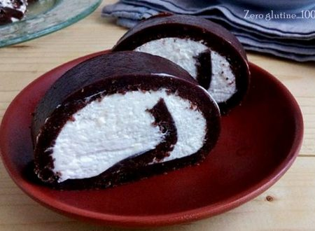 Rotolo al cacao senza cottura