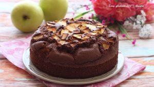 Torta di Mele e Cioccolato Senza Glutine