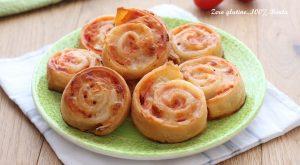 Girelle di Pasta Sfoglia alla Pizza