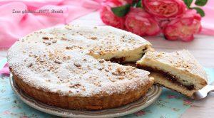 Torta Della Nonna Ripiena di Crema e Nutella