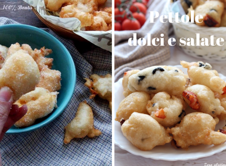Pettole dolci e salate