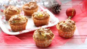 Muffin gustosi con zucchine e prosciutto