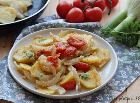Finocchi e patate in padella