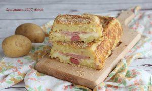 Plumcake di patate ripieno