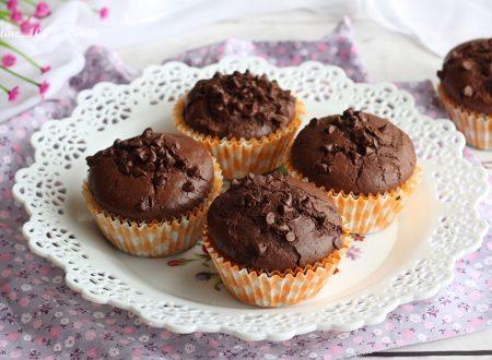 Muffin al cioccolato morbidissimi