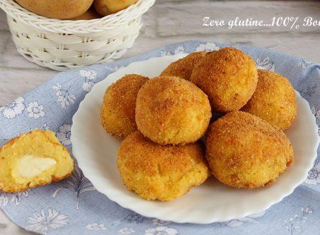 Bombette di patate ripiene di mozzarella